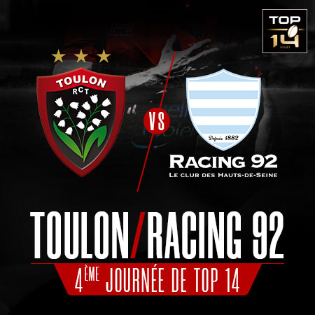 RC TOULON / RACING 92